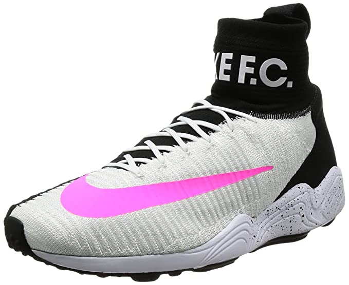 960b9329513 Amazon.com  Nike Zoom Mercurial Flyknit Men s Shoe White White Black ...