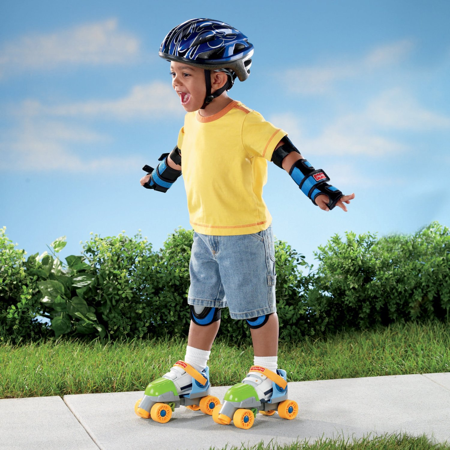 Roller skates under 20 dollars - Amazon Com Fisher Price Grow With Me 1 2 3 Roller Skates Green Toys Games