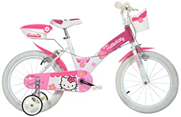 Dino Bikes - Bicicleta Hello Kitty, 16 pulgadas: Amazon.es ...