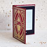 Harry Potter Themed Book Spells Kindle Paperwhite Cover (Gryffindor Red)
