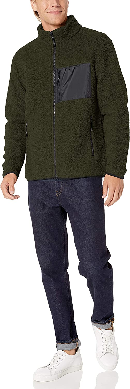 Goodthreads Sherpa Fleece Fullzip Jacket Hombre