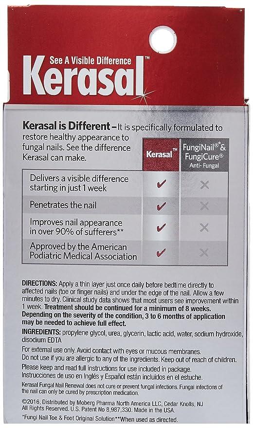 Kerasal Nail Fungal Nail Renewal Treatment 10ml (2 Pack): Amazon.ca ...