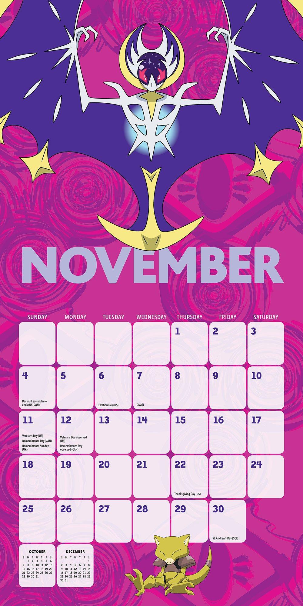 Pikachu December 2019 Calendar Pokemon Wall Calendar: Pokémon: 9781419728105: Amazon.com: Books