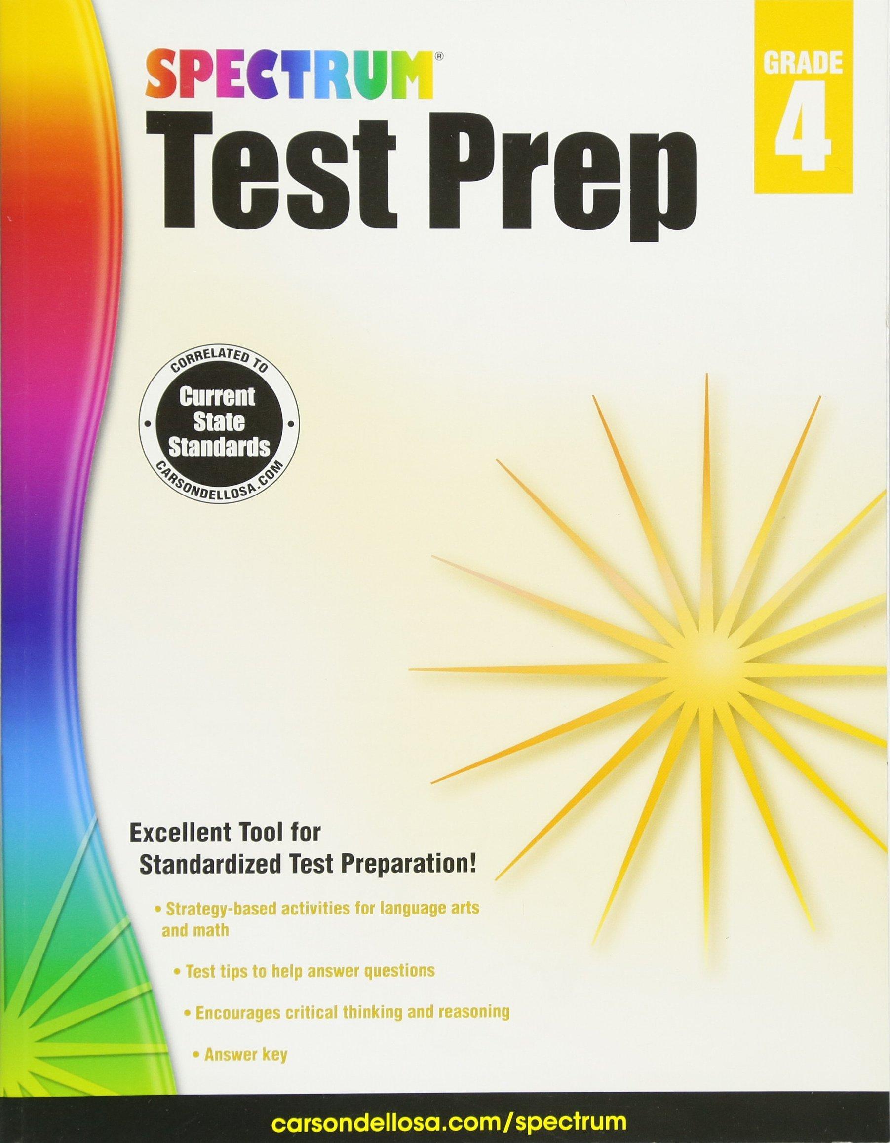 Read Online Spectrum Test Prep, Grade 4 PDF