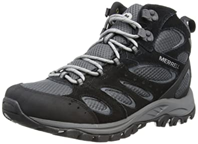 Amazon.com | Merrell Men's Tucson Mid Waterproof Hiking Shoe ...