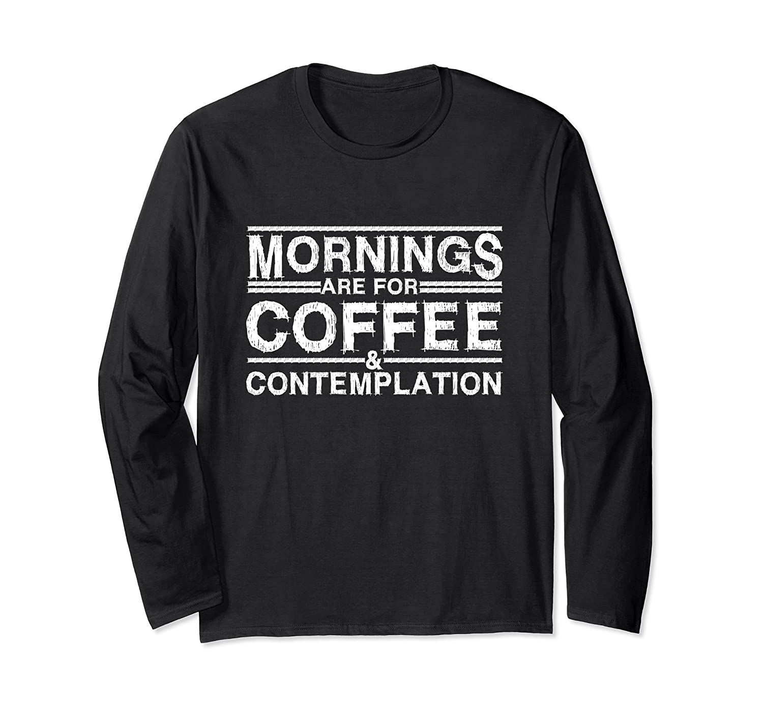 Mornings Are For Coffee And Contemplation T Shirt Rose