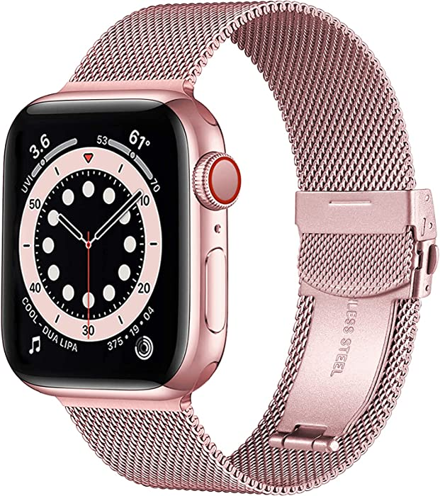 Updated 2021 – Top 10 Mesh Watch Band Apple Watch 38 Mm