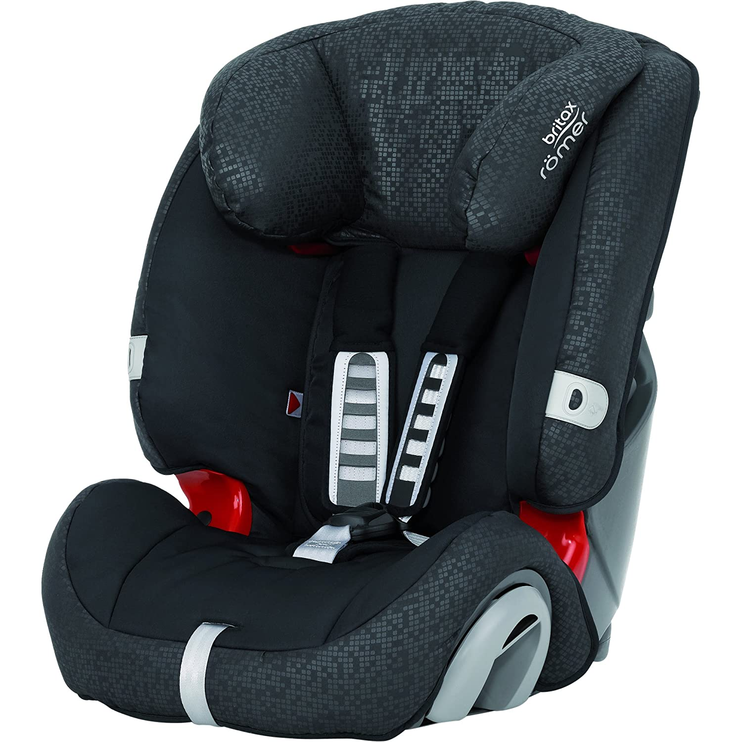 britax romer evolva car seat combination group 1 2 3 black thunder ebay. Black Bedroom Furniture Sets. Home Design Ideas