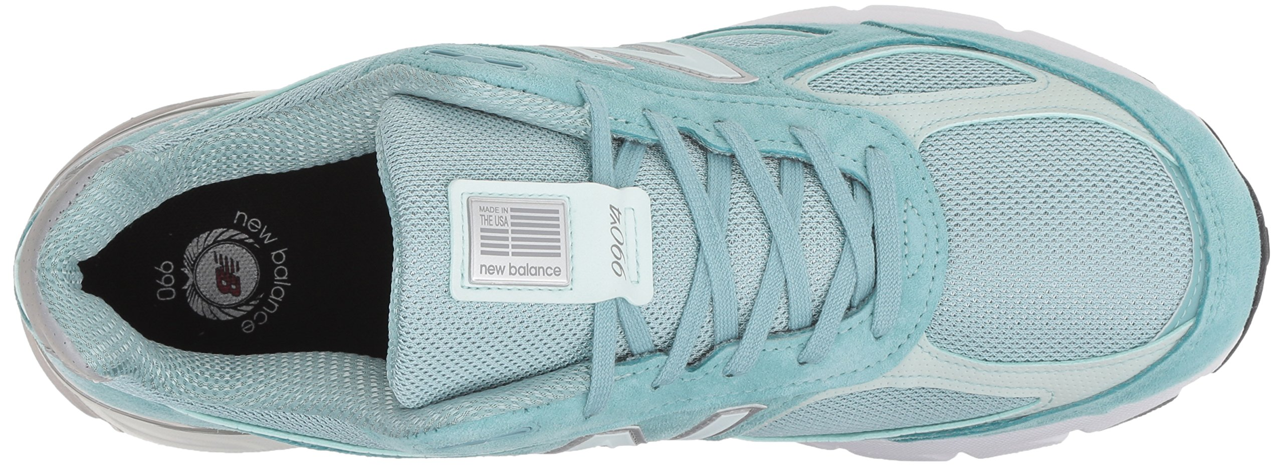 New Balance Men's 990v4, Green/White, 7 D US by New Balance (Image #8)