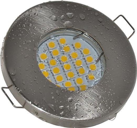 Einbaustrahler Aqua IP65 | 230Volt GU10 5Watt LED Leuchtmittel ...