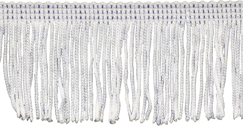 """25 Yards White 100/% Cotton Fringe 2/"""""""