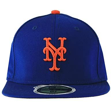 info for 807ea ebc5b New Era New York Mets MLB Authentic Collection On Field Road 59FIFTY Youth  Cap Black Size