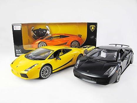 Amazon Com 1 14 Lamborghini Gallardo Superleggera Rc Car Electric