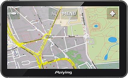 Peiying Navegacion Dispositivo Gps Alien Py De Gps7013 Plus Mapa