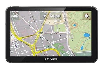 Peiying Navegación dispositivo GPS Alien PY de gps7013 Plus Mapa de Europa, 7 pulgadas,