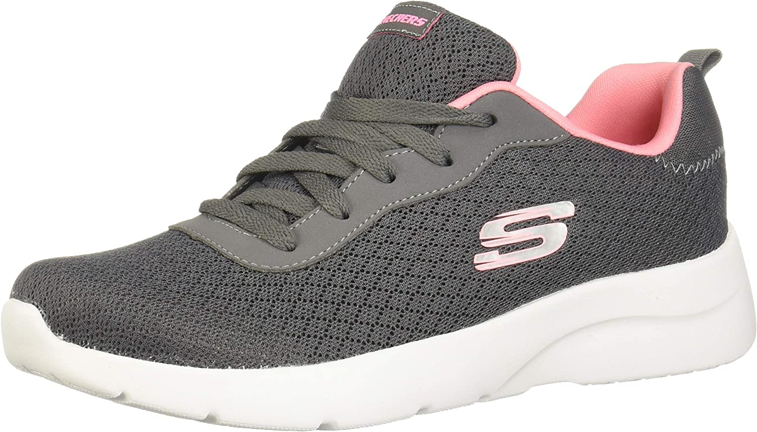 skechers dynamight ladies trainers white