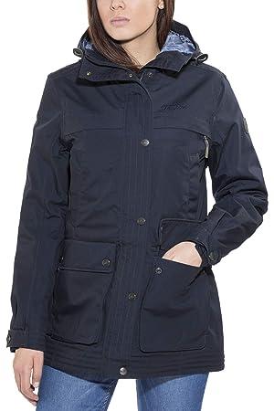Tenson Lisen - Chaqueta para Mujer, Color Azul Oscuro, otoño ...