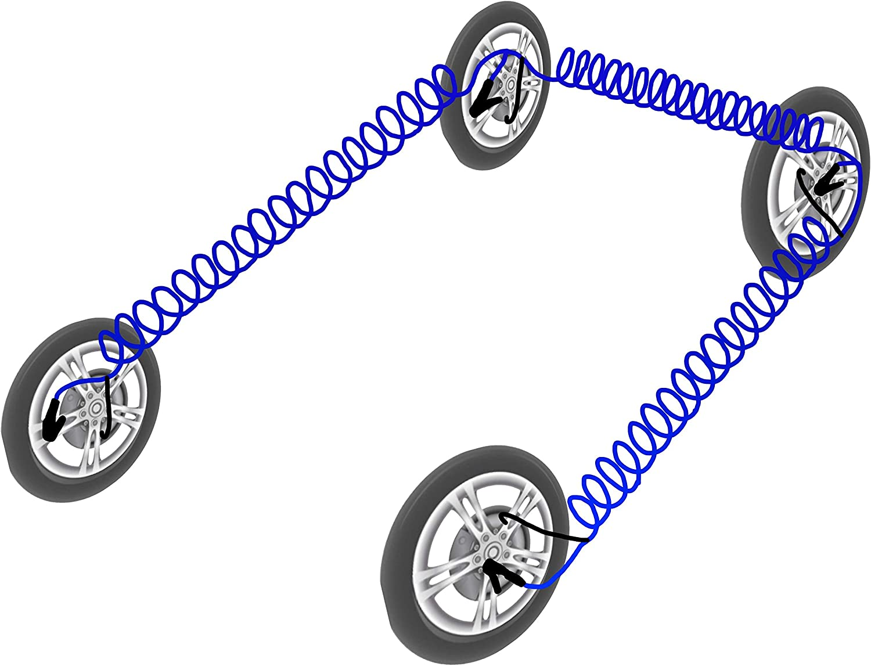FlatterUP 2 Minute Emergency Flat Tire Fill-up