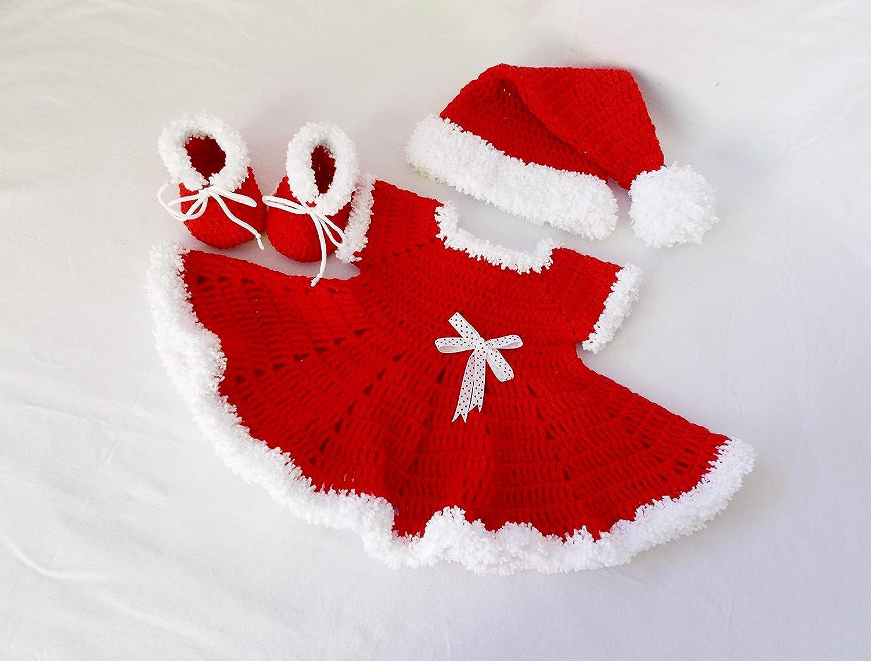 Crochet Baby dress shoes set