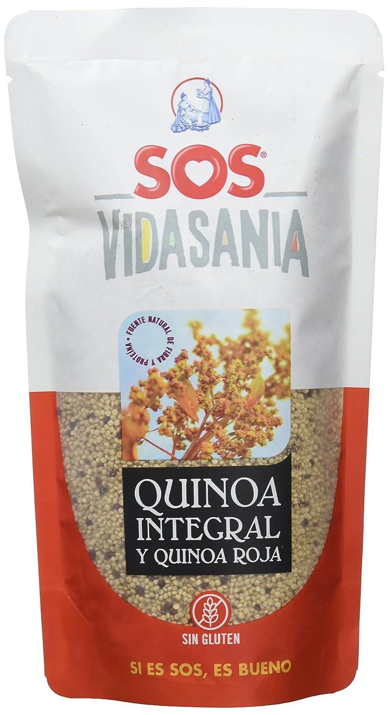 SOS Vidasania Quinoa integral y roja - 200 g: Amazon.es: Alimentación y bebidas