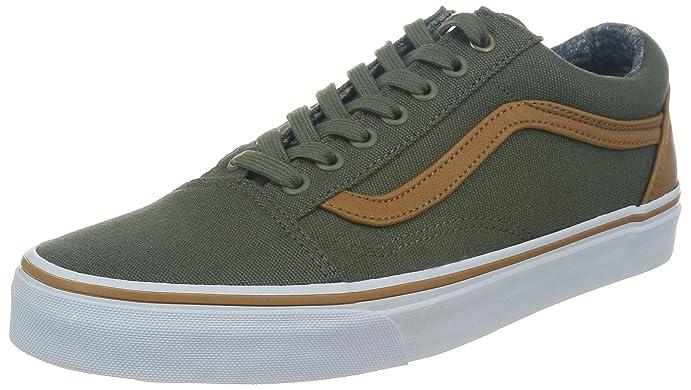 Vans - Mens C&L Old Skool Shoes, Beetle-Washed, ...