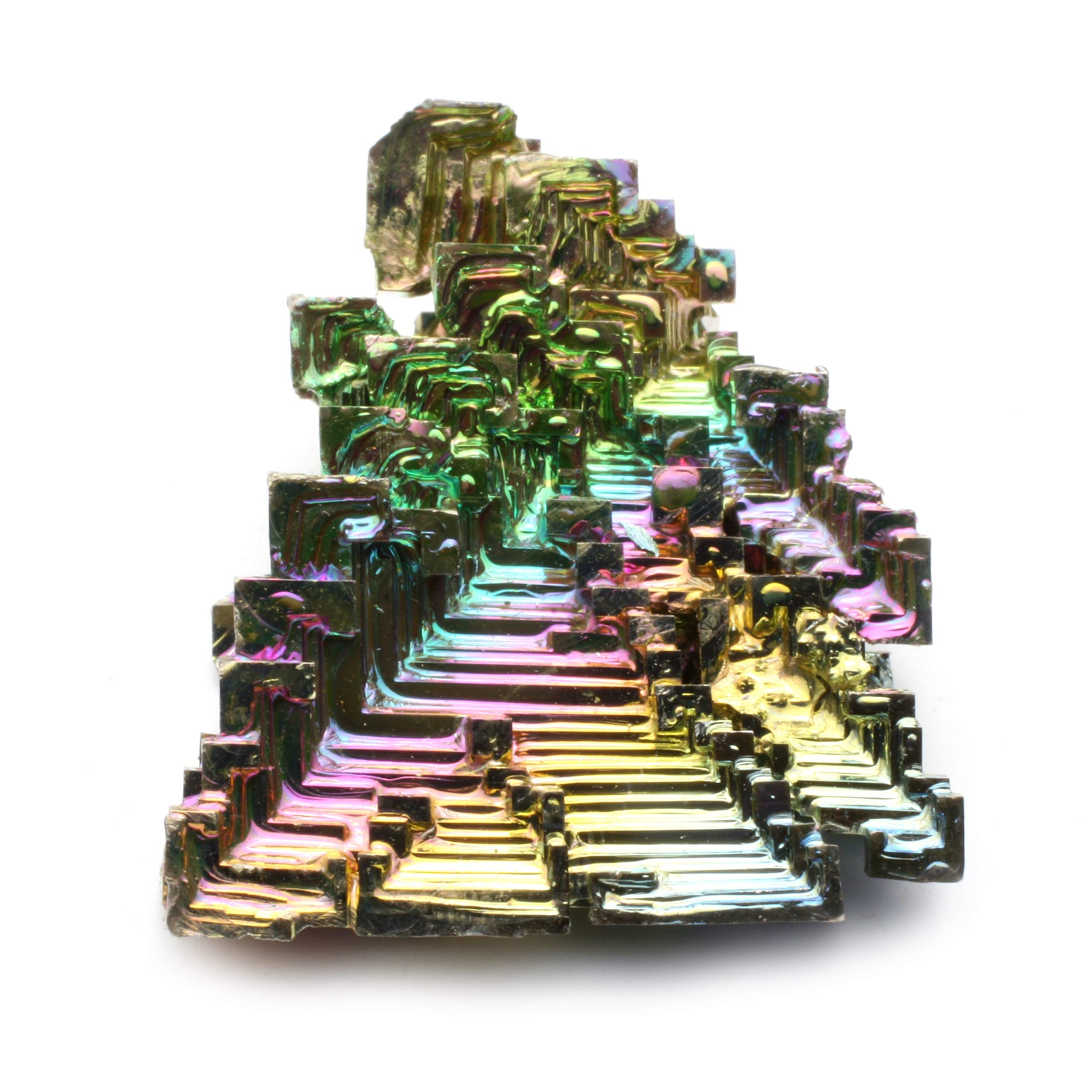 Bismuth Crystal Specimen - Large (40-50mm)