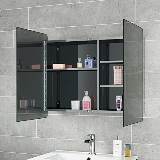 Soak Moderner Spiegelschrank Aus Edelstahl Fur Das Badezimmer