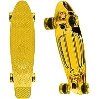 WonderTech Monopatín Skateboard Completo Retro Crucero, rodamiento ABEC-7