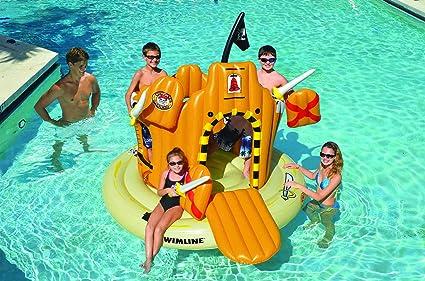 Amazon.com: Swimline Pirate Island Pool Float: Toys & Games
