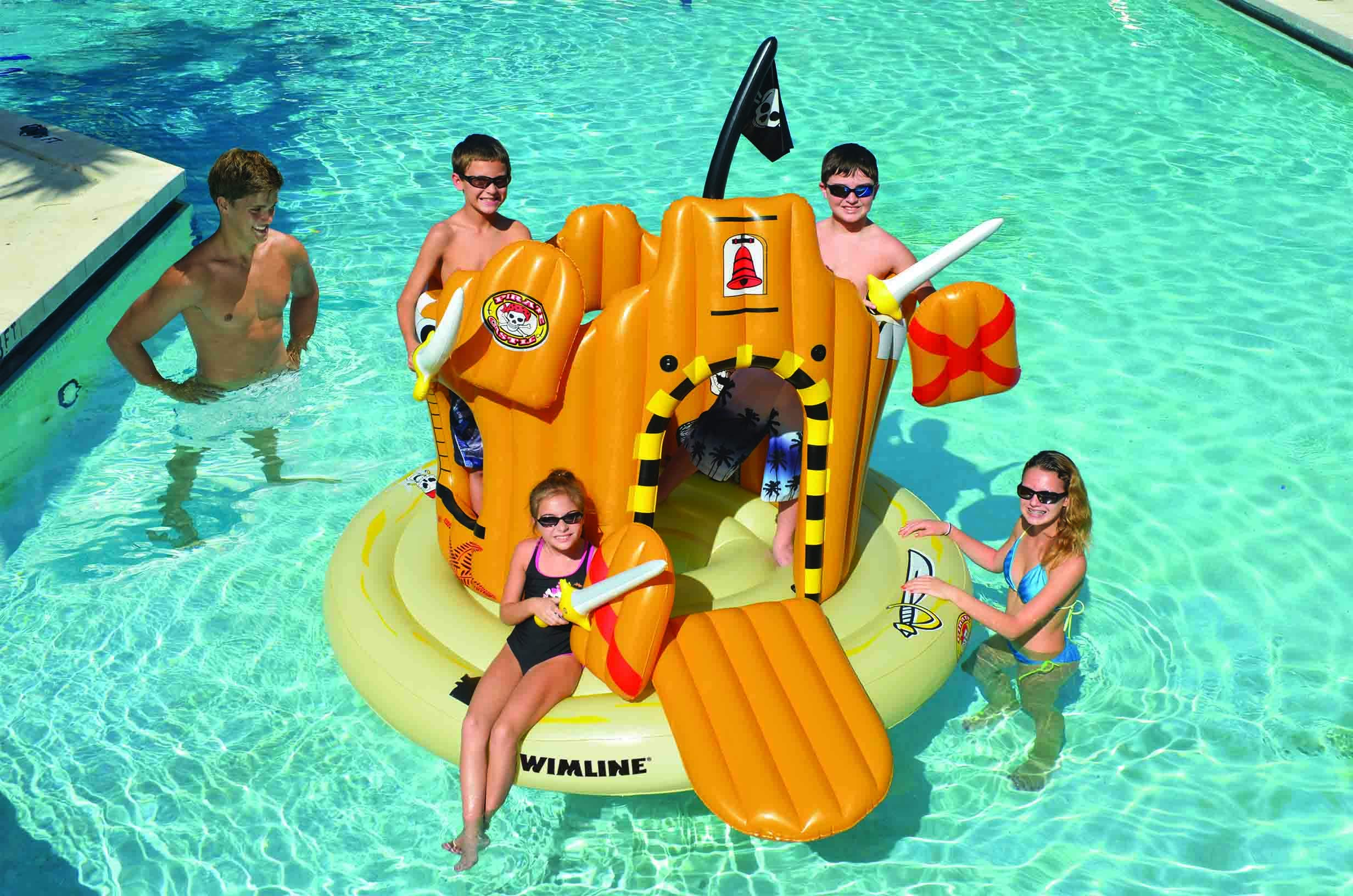 Swimline Pirate Island Pool Float by Swimline (Image #1)