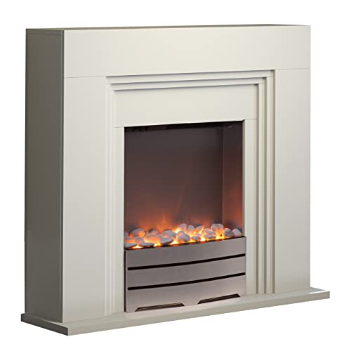 Endeavour Fires Castleton Electric Fireplace Suite Amazon