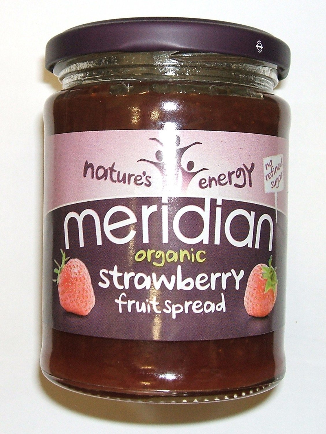 Organic Strawberry Fruit Spread - 284g by Meridian (Image #1)