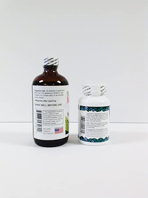 Amazon.com: Alta Magnesium Chloride 100 Tablets & Magnesium Chloride Liquid 8 Oz Combo, Cloruro De Magnesio, Magnesium Chloride, Cloruro De Magnesio De ...