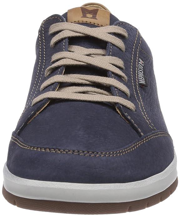 Mephisto LUDO SPORTBUCK 1945/MANO 3535 NAVY - zapatos con cordones de cuero hombre, color azul, talla 41.5