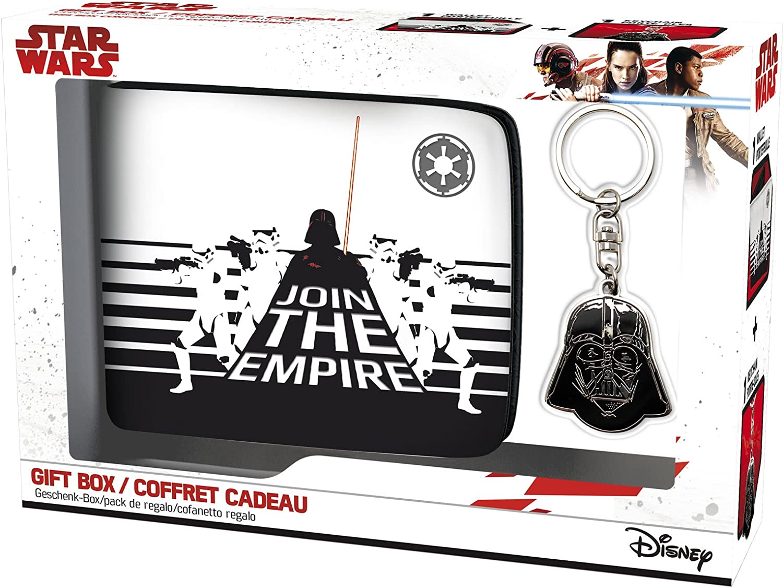 Porte-cl/és Dark Vador Coffret Cadeau Portefeuille ABYstyle Star Wars