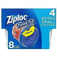 Deals on 6 Pack Ziploc Twist N Loc, Extra Small 4 ct