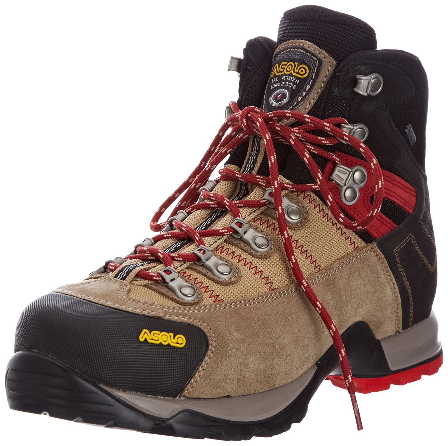 0M3400_508 Asolo Men's Fugitive GTX Hiking Boots - Wool/Black