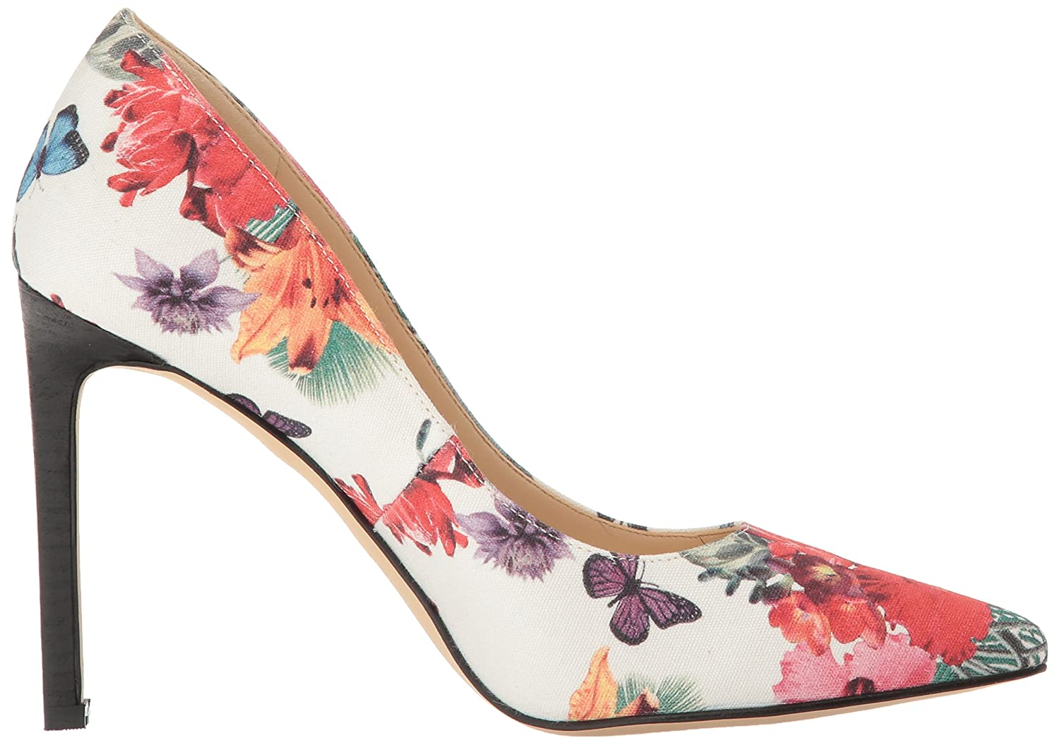 Nine West Frauen Frauen West Pumps Off Weiß Floral 778e69