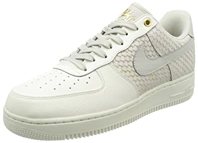 Nike Air Force 1 07 LV8 Men's Shoes SailLight BoneMetallic Gold 823511 100