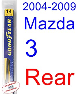Amazon.com: 2008-2015 Toyota Highlander Wiper Blade (Rear) (Goodyear ...