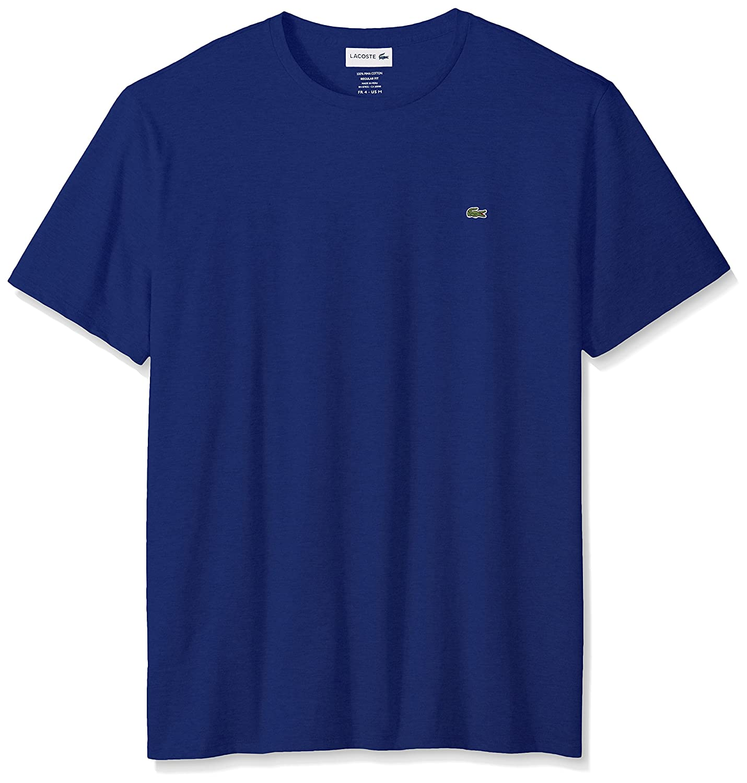 Lacoste スタンダード半袖ジャージー ピマ レギュラーフィット クルーネック Tシャツ、Th6709 – 51 B01MCWFKVU 8|オーシャン(Ocean) オーシャン(Ocean) 8