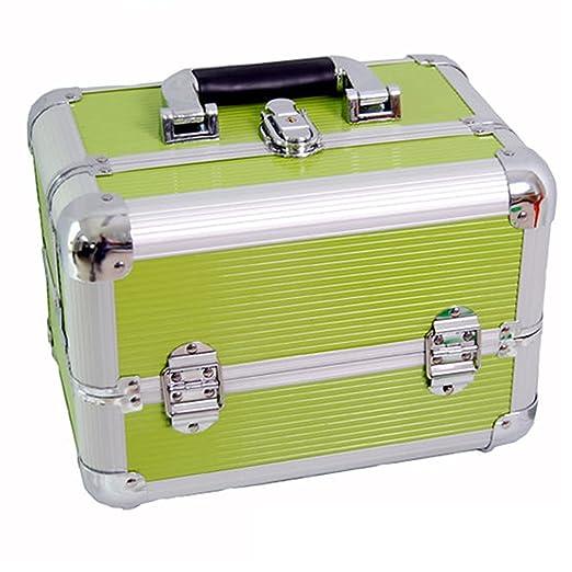 23 opinioni per DynaSun Bss35 Beauty Case Make Up Nail Art Porta Gioie, Verde, XXL