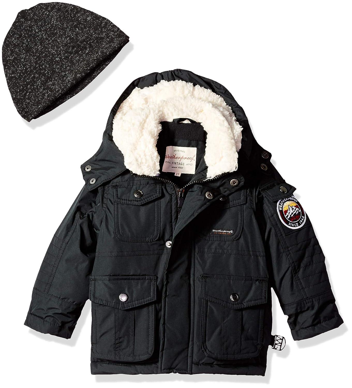 Weatherproof Boys Paprika Jacket with Multi Use Pockets O/_WK44H