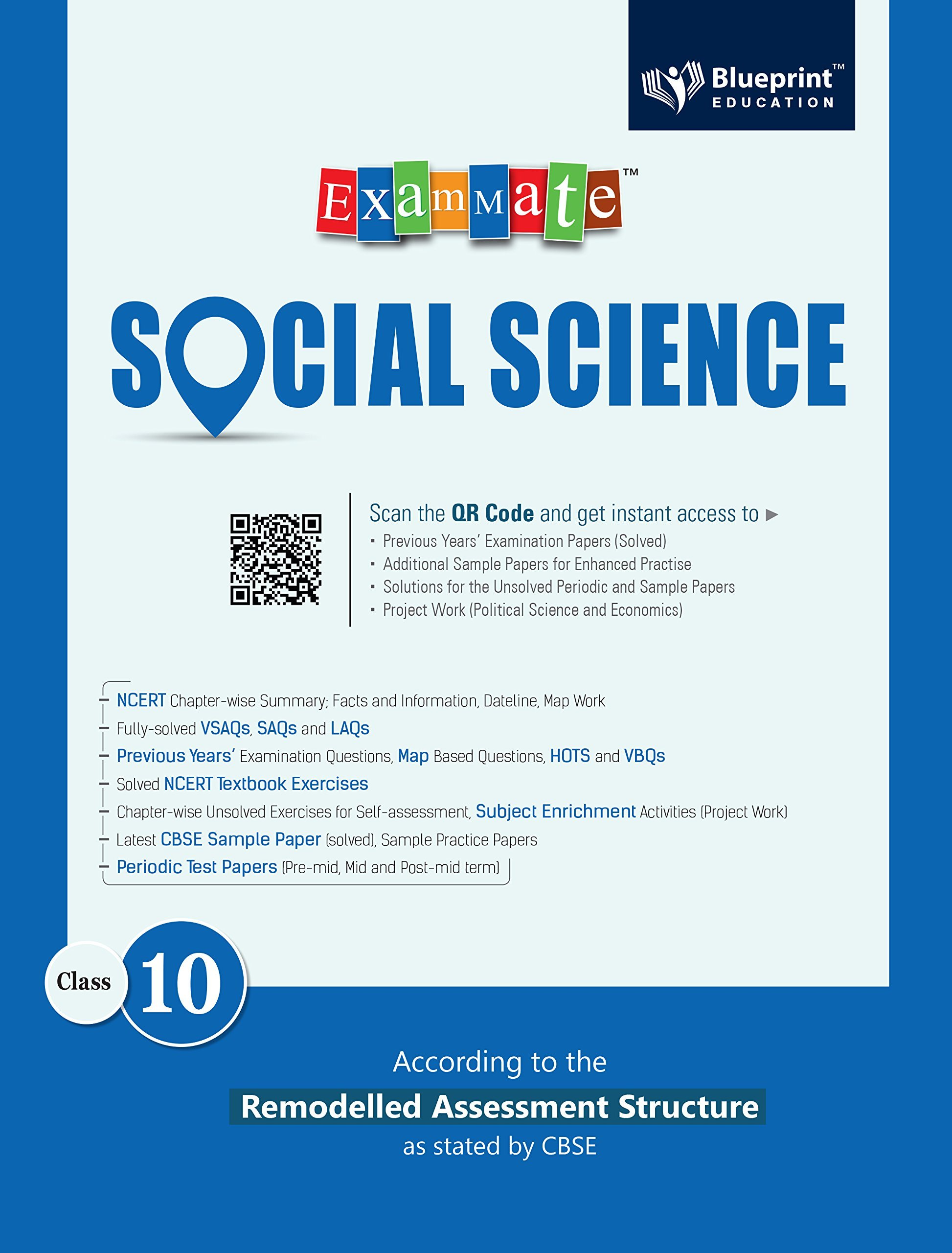Buy Exam Mate Social Science for Class 10 For 2019 Examination