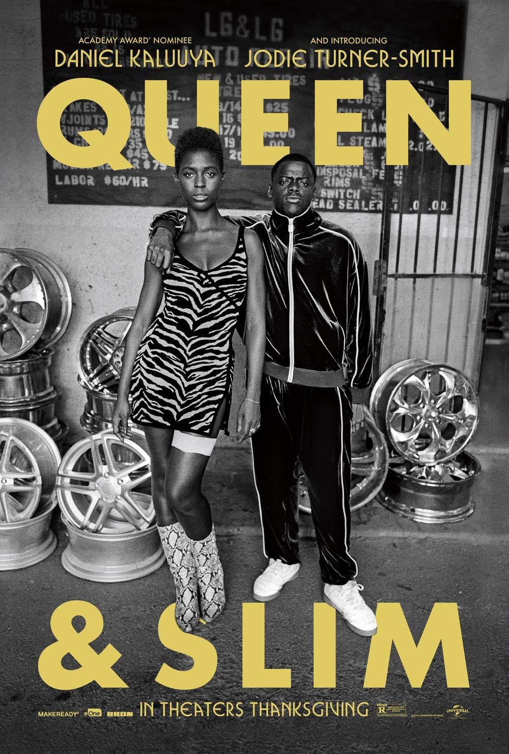 Lionbeen Queen Slim - Movie Poster - Cartel de la Pelicula ...