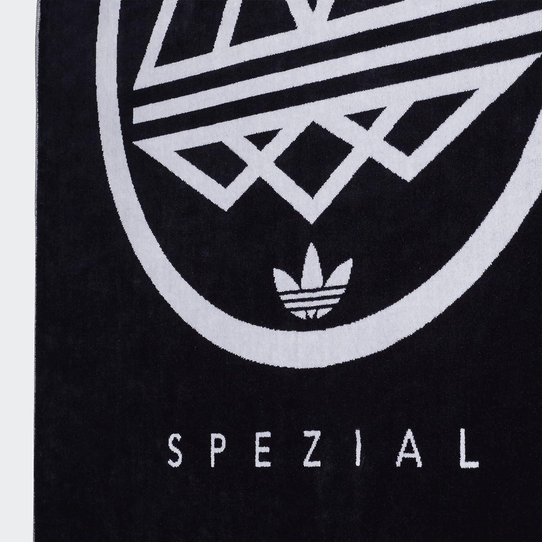 nueva alta calidad información para talla 40 adidas Spezial Original Logo Towel (Night Navy/White, One ...