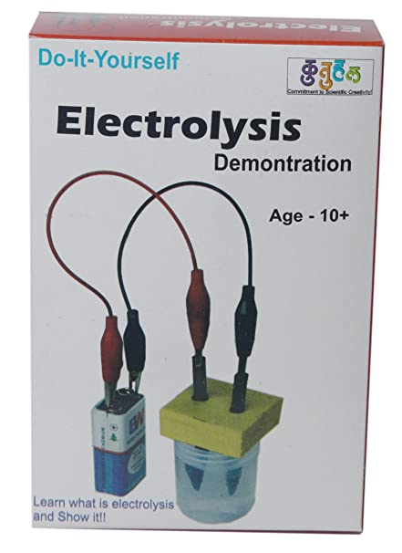 Buy kutuhal electrolysis of water demonstration kit do it kutuhal electrolysis of water demonstration kit do it yourself experiment kit chemistry solutioingenieria Gallery