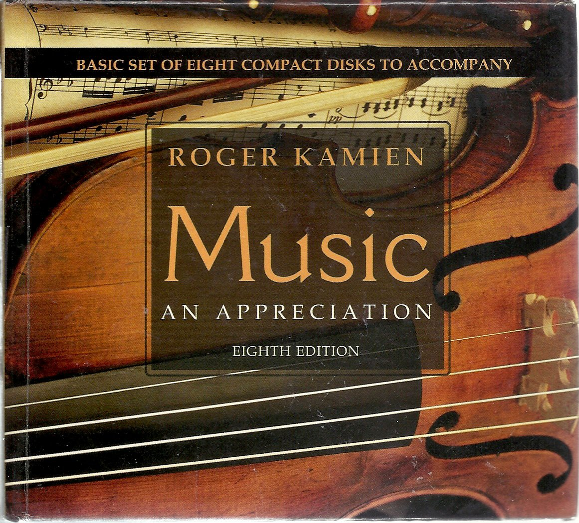 8 cd basic set for use with music an appreciation