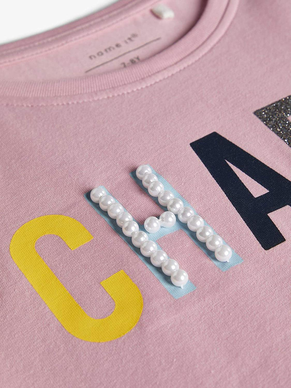 Name It Nkfdekia SS Top T-Shirt Bambina