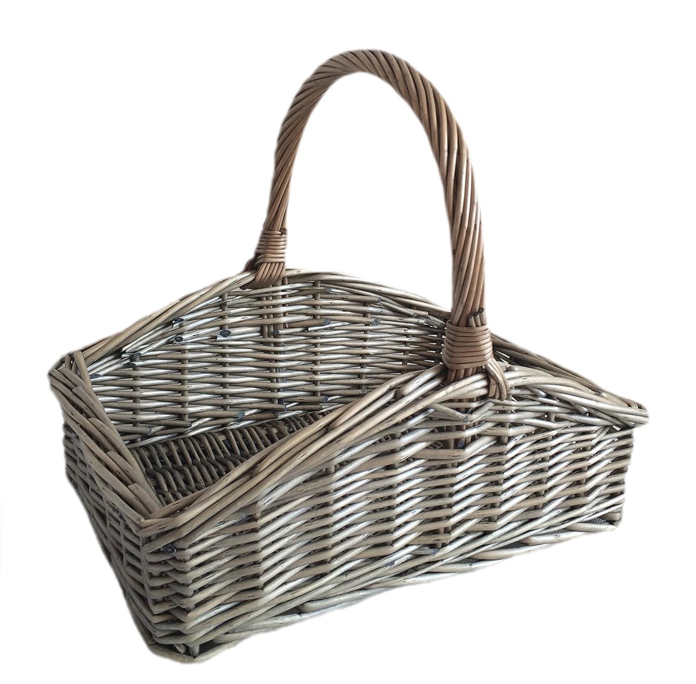 Choice Baskets Groß e Slope-seitige Antique Wash Gartenkorb Garten Korb